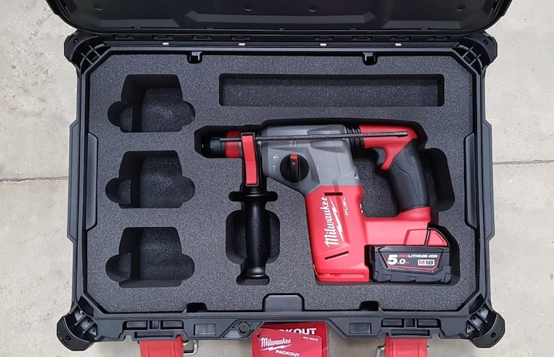 Case with Custom Foam Drill Packaging