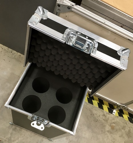 Flight Case with Custom Foam Insert