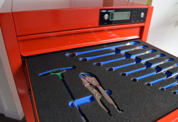 Tool Control Foam within Cabinet
